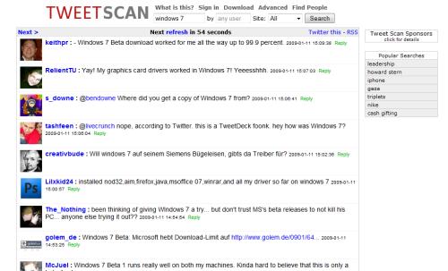 tweetscanwin7